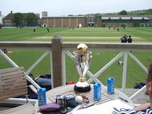England ladies (World champions) take on Brighton College