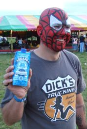 spiderman likes aquapax