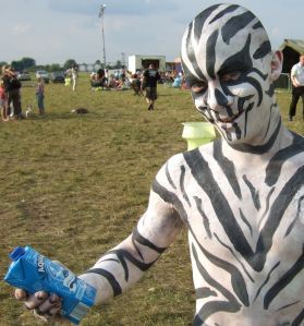 zebra guy at the CLMF 2009