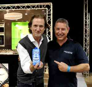 yours truly with the maestro Paul Rankin & his Aquapax